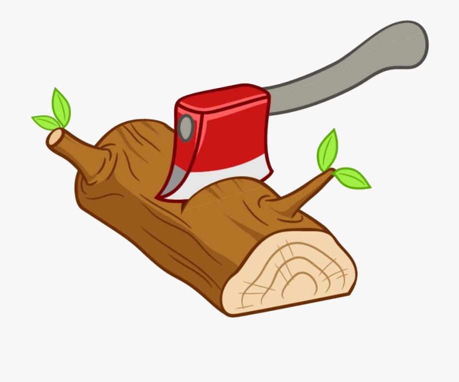 Free lumber axe cutting. Ax clipart chop wood