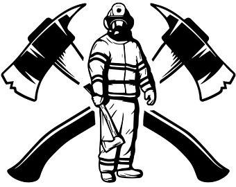Svg etsy logo firefighting. Axe clipart firefighter