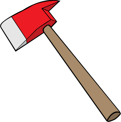 Axe clipart firefighter. Free on dumielauxepices net