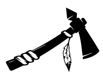 Ax clipart hatchet book. Svg etsy axe indian