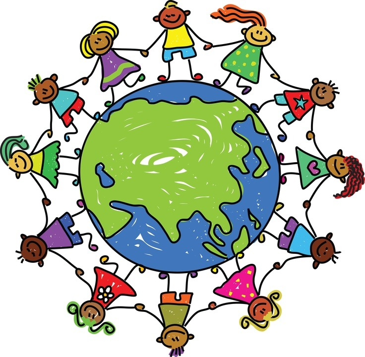 Ax clipart kid. Lovely of world map