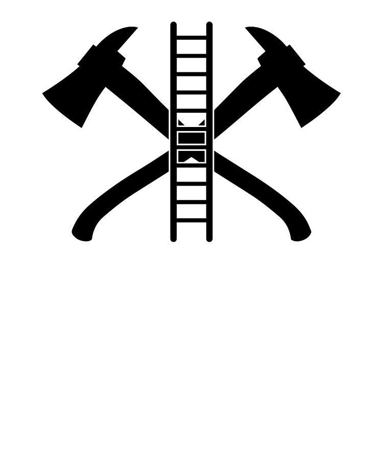 Firefighter fireman fire first. Ax clipart ladder