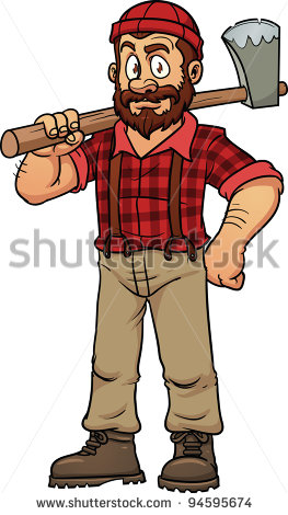 Axe animated pencil and. Ax clipart lumberjack