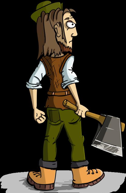 Ax clipart lumberjack axe. Cartoon logger png transparent