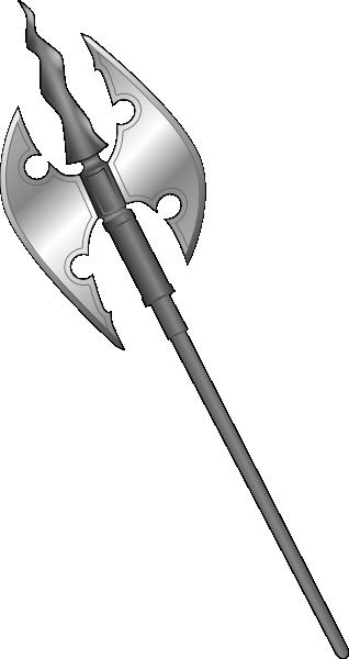 Ax clipart medieval. Axe clip art at