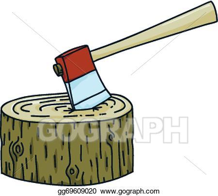 Ax clipart sharp object. Vector art axe in