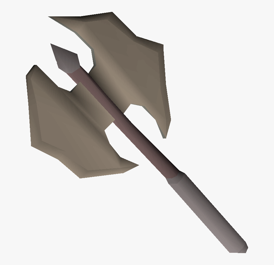 Ax clipart silver axe. Runescape battle