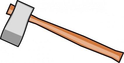 Cartoon tools axe hardware. Ax clipart tool