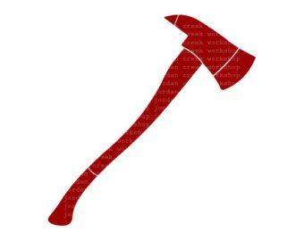 Axes axe fireaxe firefighter. Ax clipart tool