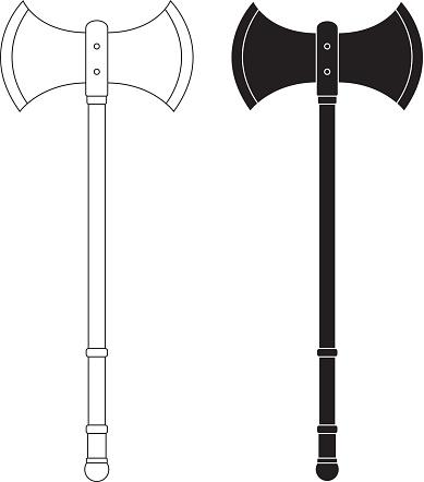 Ax clipart vector. Executioner s axe clipground