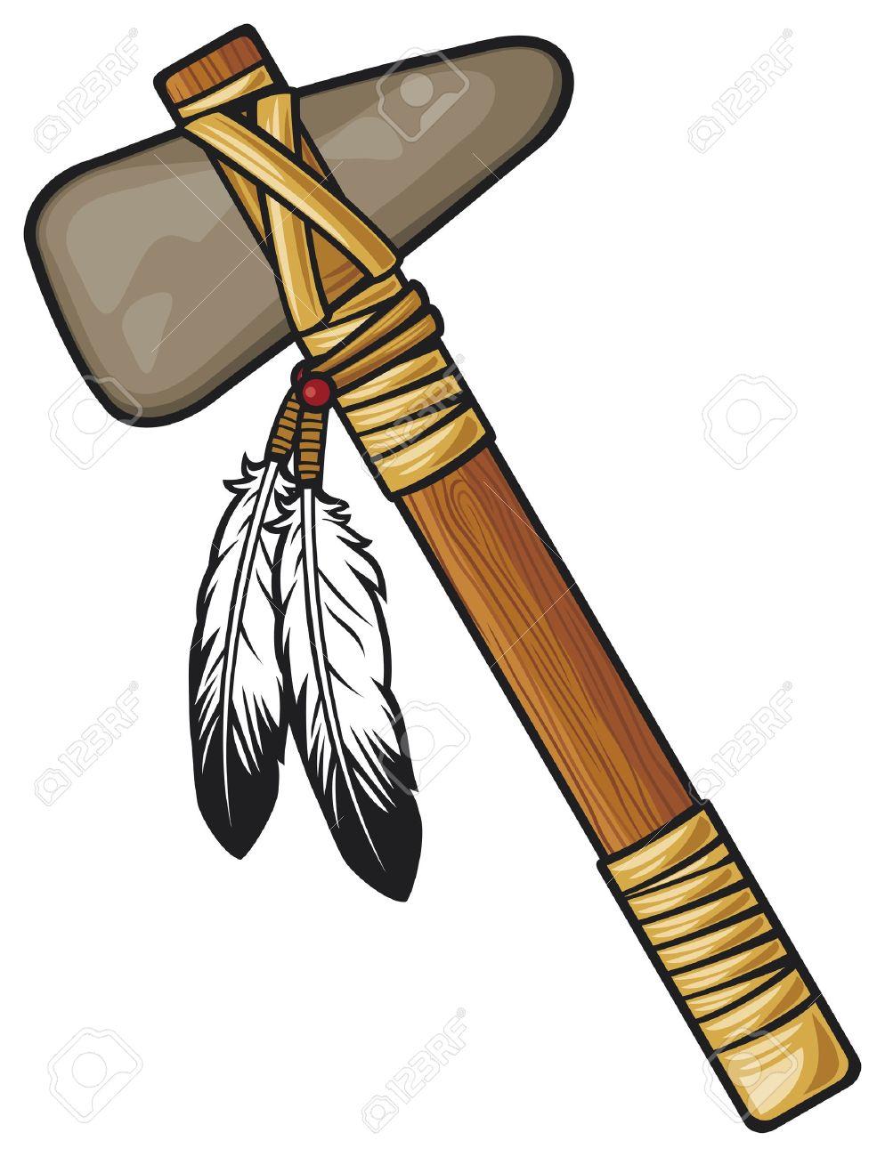 Axe tomahawk pencil and. Ax clipart vector