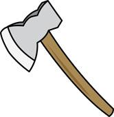 Ax clipart viking. Shield norseman panda free