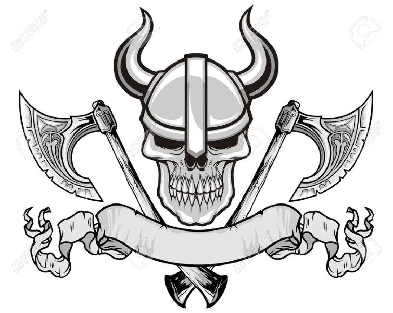 Line drawing at getdrawings. Ax clipart viking