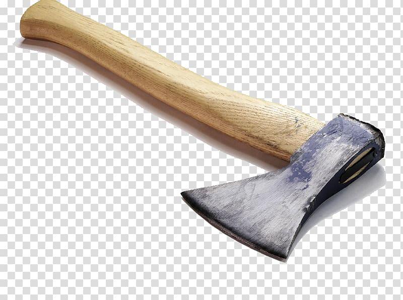 Hatchet firewood transparent background. Ax clipart wood axe