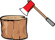 Ax clipart wood axe. Search results for cutting