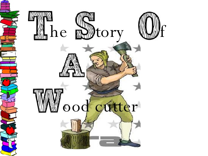 Story he tory f. Ax clipart wood cutter