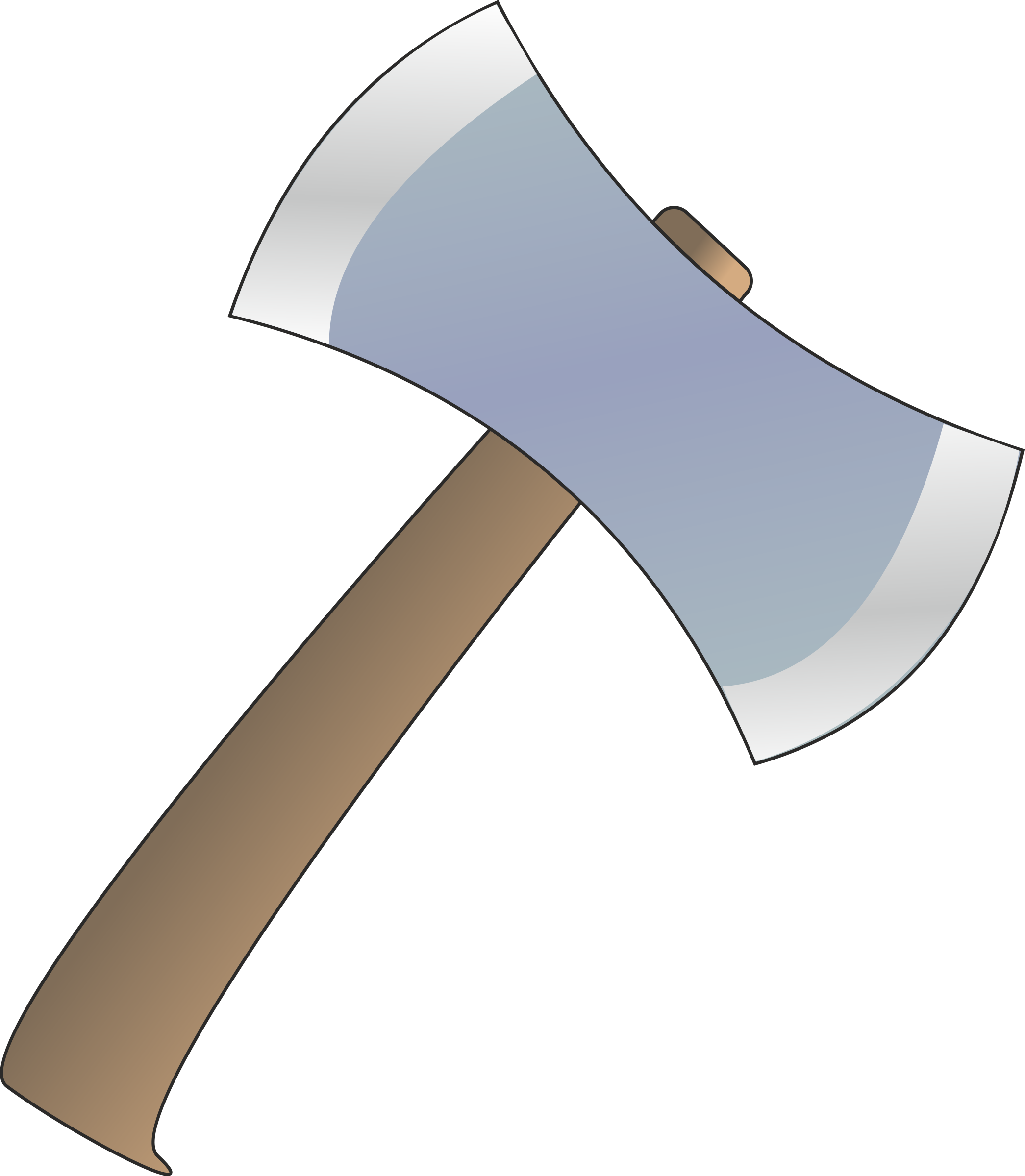 Big image png. Axe clipart