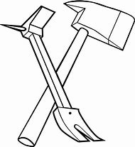 Best ideas about clip. Axe clipart crossed fire