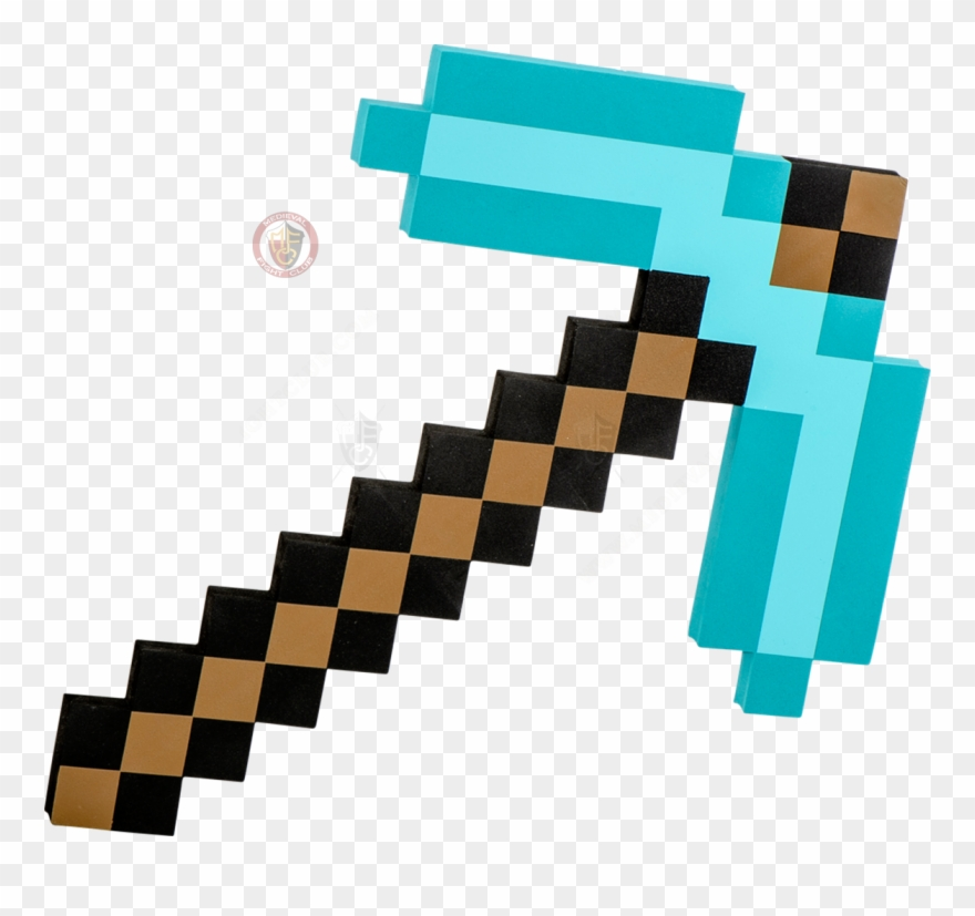 Minecraft clipart minecraft axe. Diamond png freeuse download