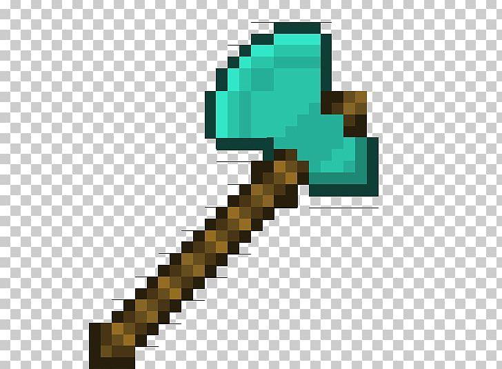 Axe clipart minecraft axe, Axe minecraft axe Transparent ...
