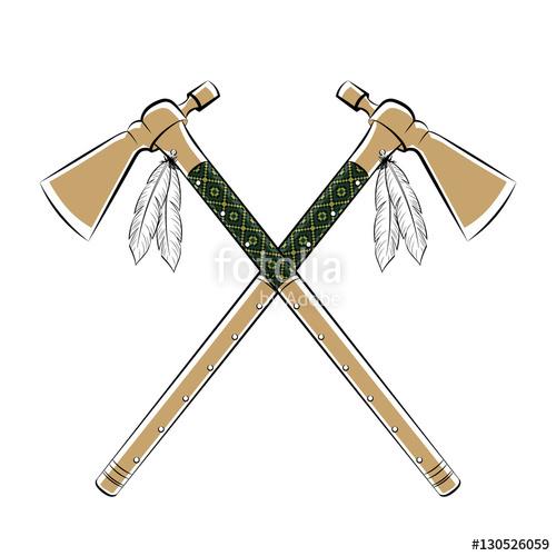 Battle ax tomahawk throwing. Axe clipart native american