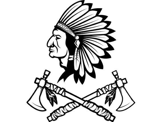 Axe clipart native american. Indian logo warrior tomahawk
