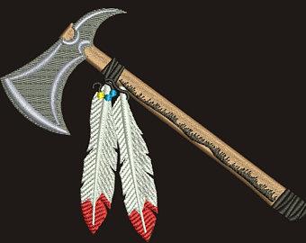 Kitchen viking tomahawk hatchet. Axe clipart native american