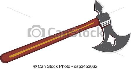 Norse axe . Ax clipart viking