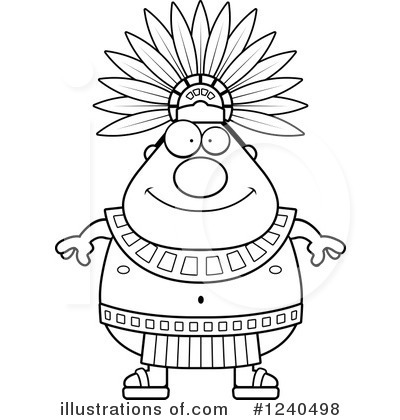 Aztec clipart. Illustration by cory thoman