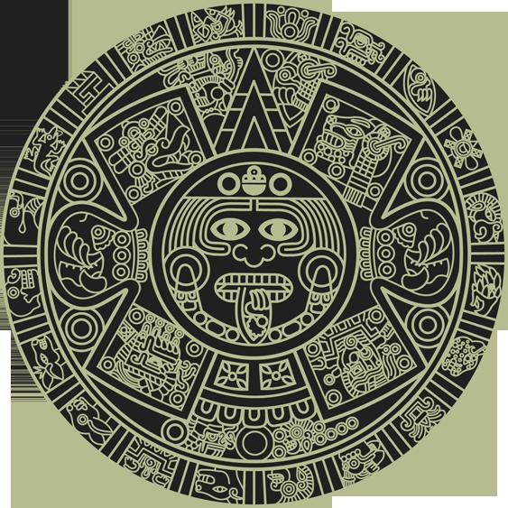 Mandala aztec