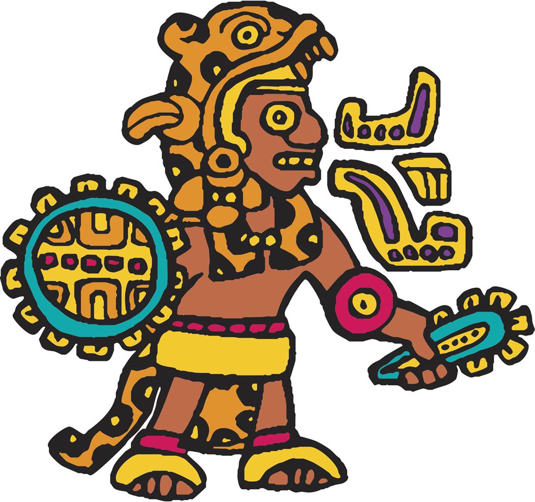 Webquest party . Aztec clipart aztec emperor