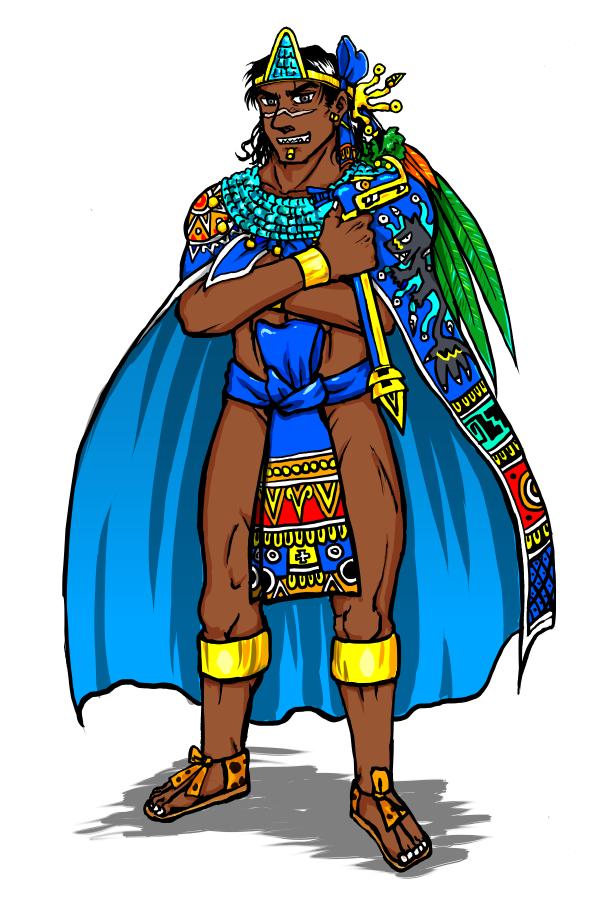 Tlatoani by nosuku k. Aztec clipart aztec emperor