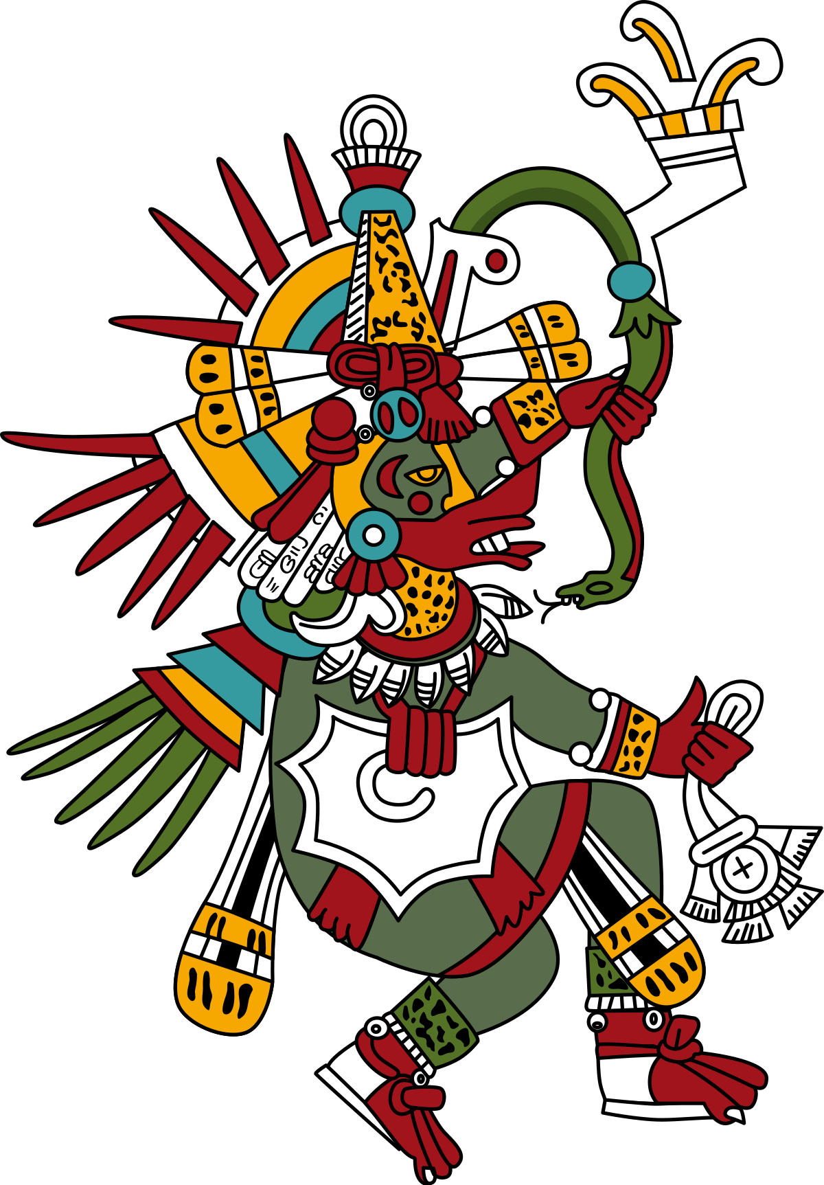 Quetzalcoatl wikipedia . Creation clipart creator god