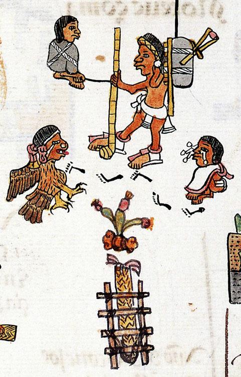 Aztec clipart aztec man. The human cost of