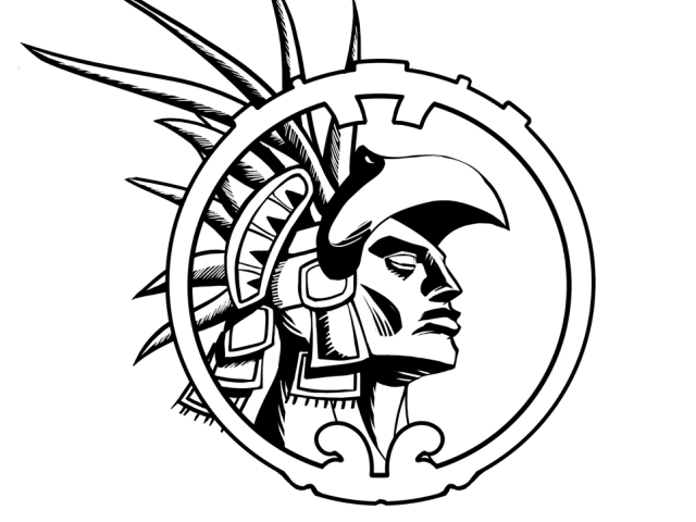 Free warrior download clip. Aztec clipart aztec man