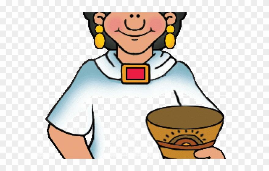 aztec clipart aztec person