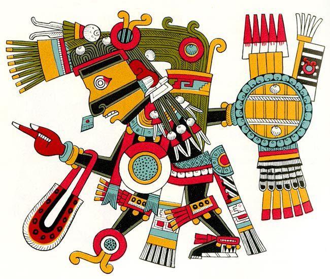 The most important gods. Aztec clipart aztec religion