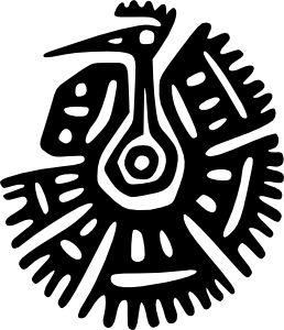 best images on. Aztec clipart aztec symbol