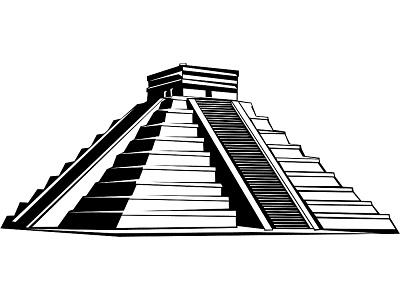 Aztec clipart aztec temple. Free mayan ruins cliparts