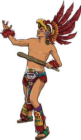Aztec clipart aztec warrior. Download transparent warfare aztecs