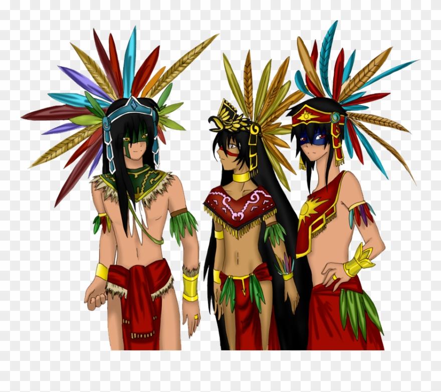 Empire png download . Aztec clipart aztec warrior