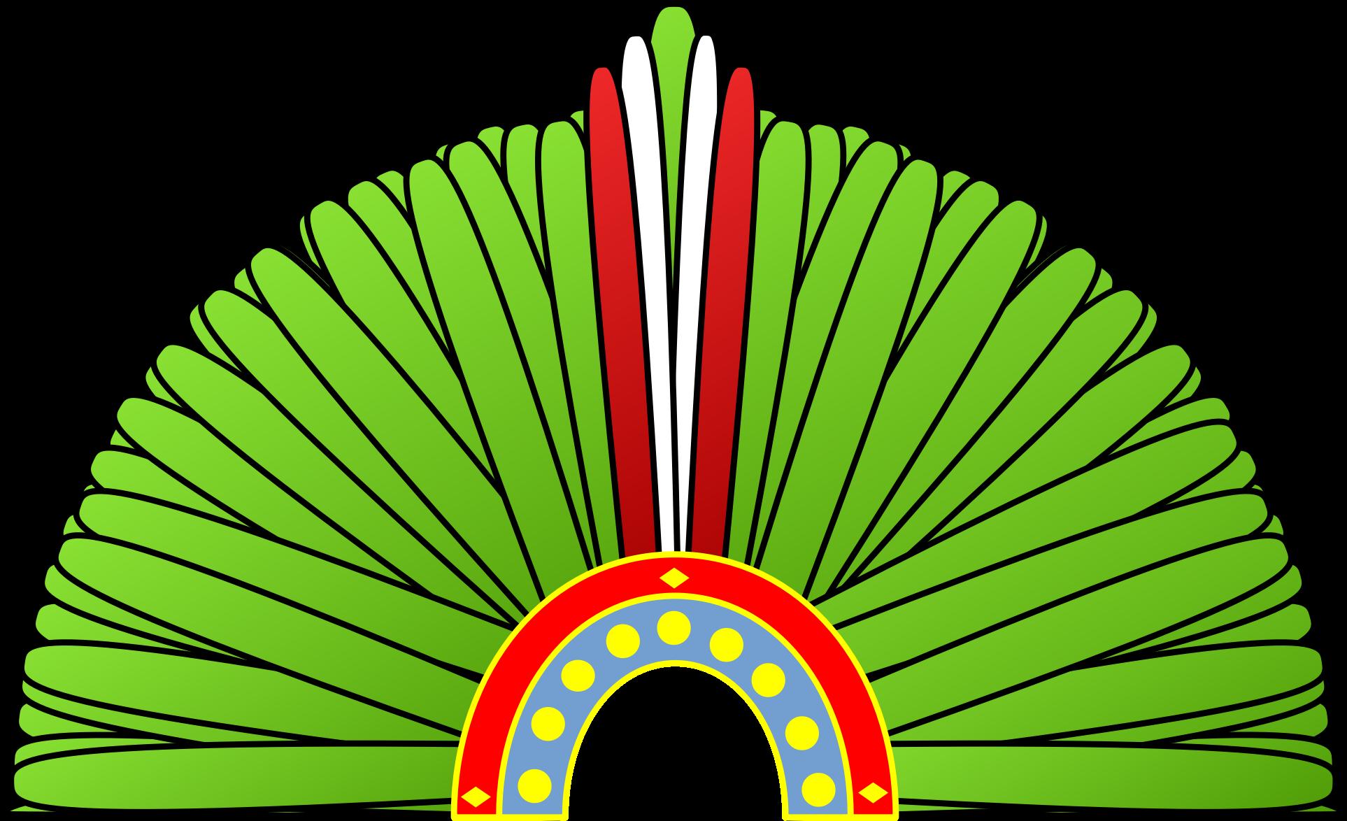 Crown corona azteca pantekatl. Farmer clipart aztec