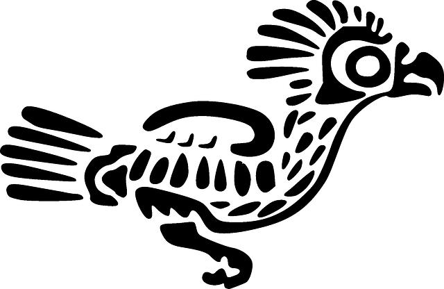 Free image on pixabay. Aztec clipart bird