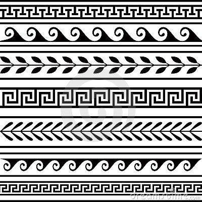 Aztec clipart border. Mayan patterns google search