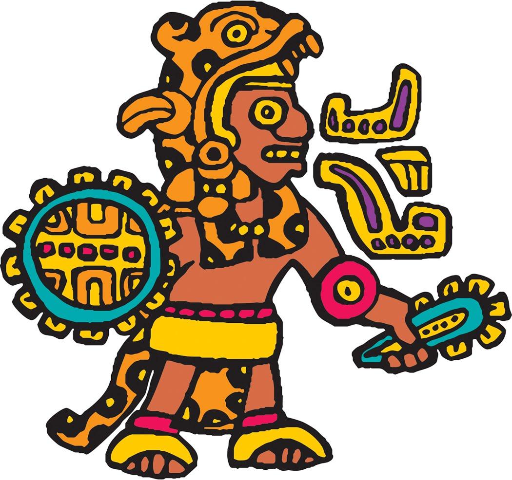 . Aztec clipart cartoon
