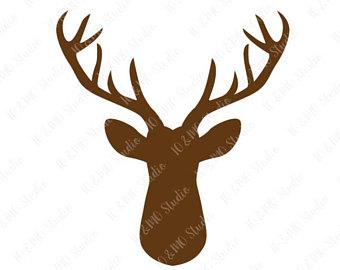 Svg mandala christmas boho. Aztec clipart deer head