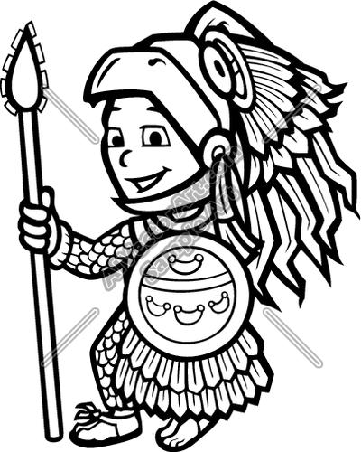 Calendar free download best. Aztec clipart drawing