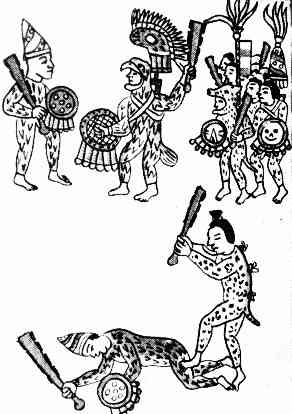 Warrior drawings . Aztec clipart drawing