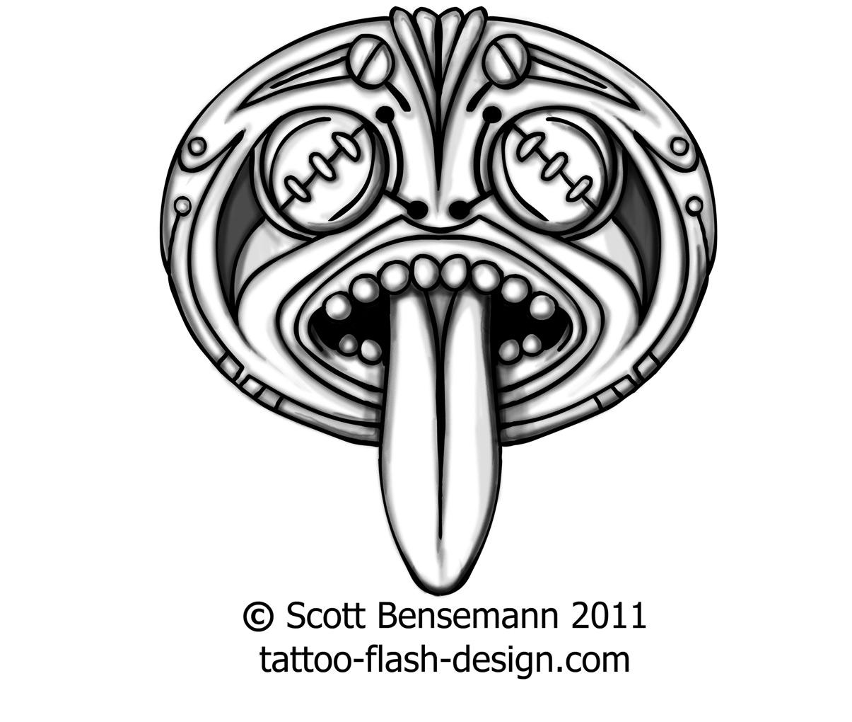 Aztec clipart face. Drawing at getdrawings com