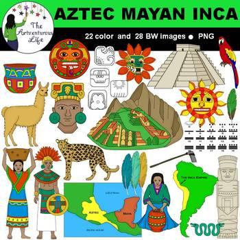 Inca mayan clip art. Aztec clipart maya
